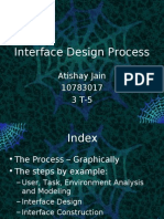 Interface Design Process SW Engg. Presentation