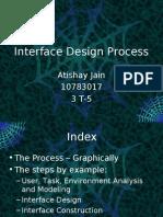 Interface Design Process SW Engg. Presentation