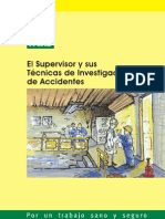 El Supervisor y Sus Tecnicas de Investigacion de Accidentes