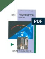 Motherboard Pentium Tr6