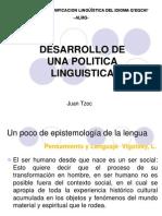 1 Taller Planificacion Linguistica ALMG