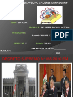 Escalera Exposicion