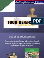 Presentacion Food Defense 2
