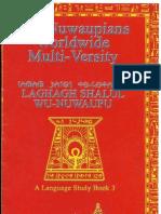 Laghagh Shalul Wu-Nuwaupu - Study Book 3