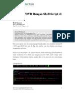 Burn CD Dan DVD Dengan Shell Script Di Linux