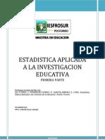 Antologia de Estadistica Aplicada a La Inv Educ