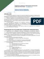 Organizacion Jurisdiccion Contencioso Administrativa Venezuela