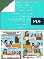 Hojita Evangelio Domingo Xvii to c Proyeccion Para Video