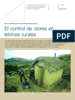 Control de Olores de Letrinas Rurales