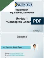 2012 1 Unidad 1 ProgI ConceptosGenerales Ing Elec Obarcia