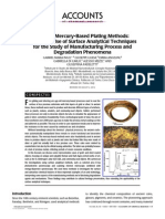 Ancient Mercury-Based Plating Methods