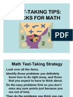 Proficiency Test Math Tips