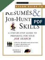 Resumes and Job-Hunting Skills