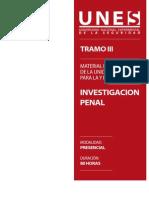 Material Discente Investigacion Penal