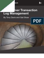 Transaction Log Management