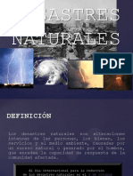 Fenomenos Naturales y Antropicos