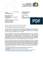 Letter from Osgoode Law Students to the FLSC