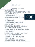 Cantos de Palo Mayombe 2