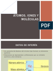 Átomos, iones y moléculas