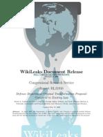 09 Wikileaks CRS