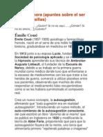 Resumen Terapia Emilio Coue