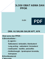 KP 16.18 Farmakologi Obat-Obat PPOK Dan Asma - 2008.ppt