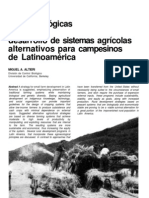 09 Altieri, Bases ecológicas de Sist Agric