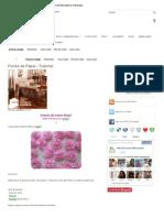aparelhoFlores de Papel - Tutorial ~ Arte De Fazer _ Ideias de Decoração e Artesanato