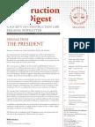 Construction Law Digest - Dec 2011