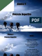 Proyecto Deportivo Alianza 9