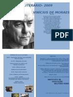 FOLDER CONCURSO LITERÁRIO- programação
