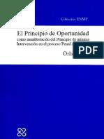 El Principio de Oportunidad - Orlidy Inoa