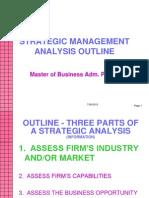 3b. Strategic Analysis