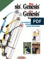 Genesis Owners Manual