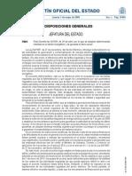 RD-L 6-2009 as Medidas Sector Energetico