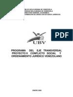 Proyecto II Conflicto Social y Ordenamiento Juridico Territorial