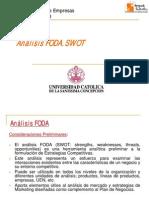 Clase 7 Analisis FODA SWOT 2011