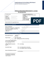 (Manual Form) Application Solar Up to 12kw