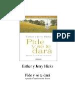 Pide y se te dara-Esther y Jerry Hicks.pdf