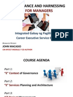 E-Governance and Harnessing ICT for Managers