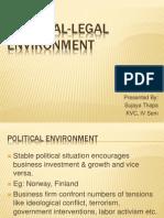 Unit 2 Political Legal Environment