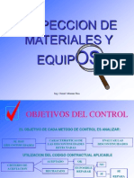 02 Inspeccion de Materiales Y Equipos