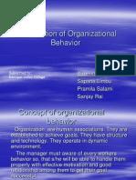 OB - Introduction of Organizational Behaviour