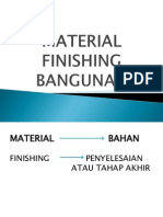 Presentasi Finishing Bangunan
