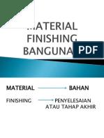 Presentasi Finishing Bangunan
