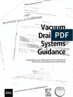 Vacuum Drainage Systems Guidance