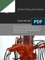 Dando Drilling Australia - Rotary Head