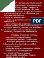 Historiografia Greco Romana Aspectos Gerais