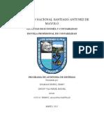 Programa Auditoria Sistemasa