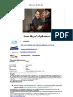 Anas Alghazawi Update Cv Ex. Arabic Development Chef Bahrain